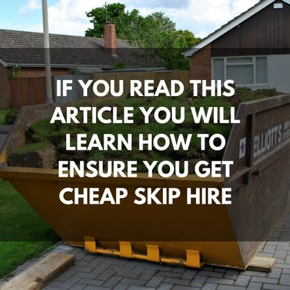 Cheap Skip Hire Article