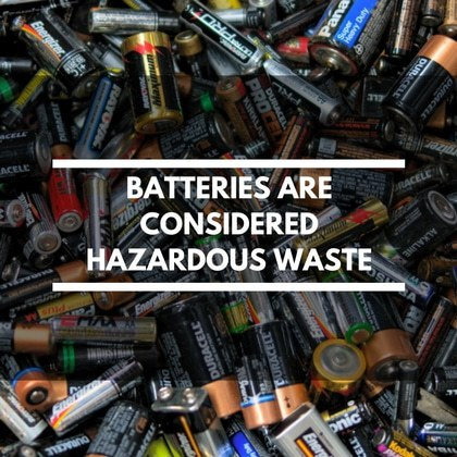Skip Hire Safety Batteries
