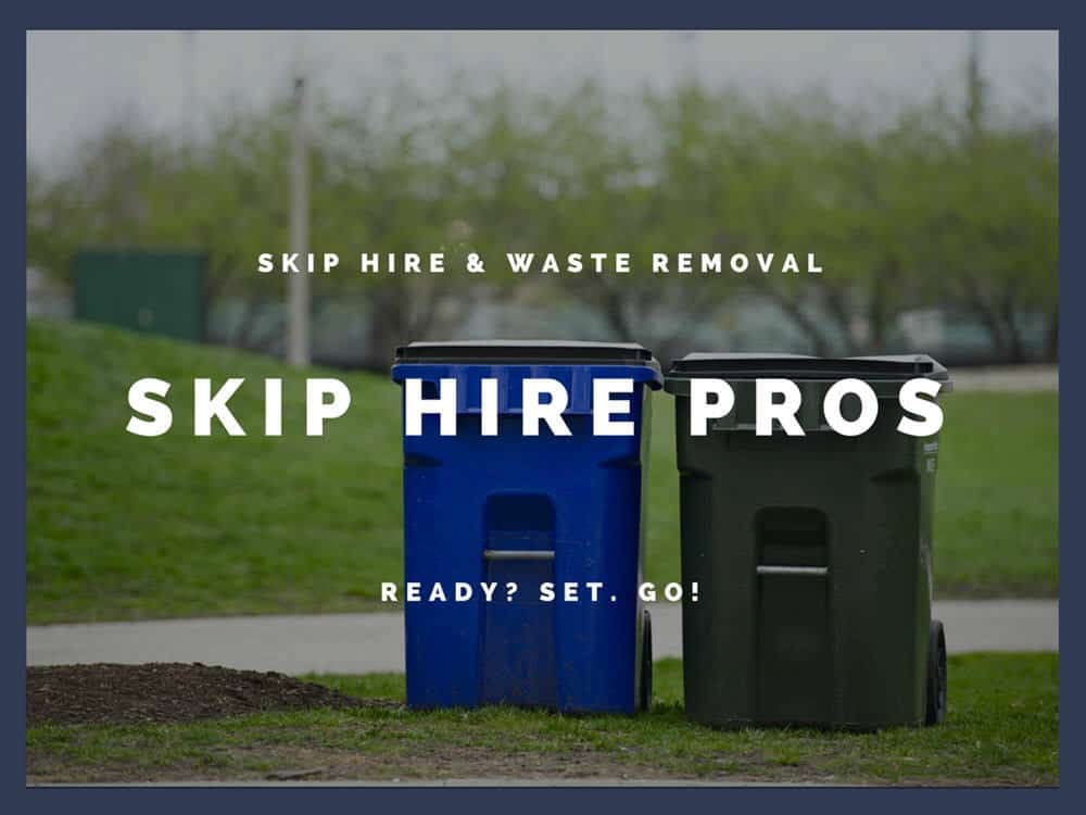 Budget Domestic 8 Yard Skip Hire